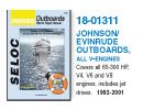 Johnson/Evinrude Outboard & Jet drev fra Verksted håndbøker Verksted Håndbøker