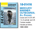 Mercury / Mariner Outboard fra Verksted håndbøker Verksted Håndbøker