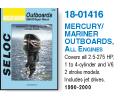 Mercury / Mariner Outboard fra Verksted håndbøker Verksted Håndbøker